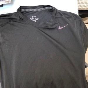Nike drifit Black t shirt